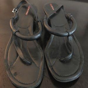 Prada gorgeous heels - gently worn